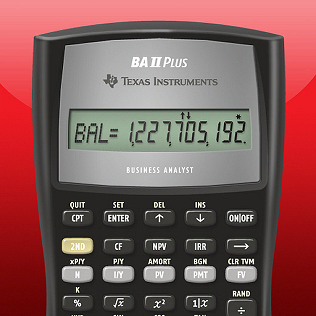 BA II Plus(tm) Financial Calculator - Texas Instruments